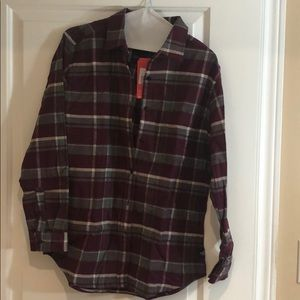 North Face Boyfriend Flannel Shirt